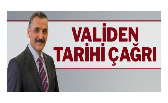 Samsun Valisi Osman Kaymak`tan tarihi çağrı