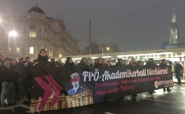 "Viyana'da ""Anti Faşist"" Gösterisi"