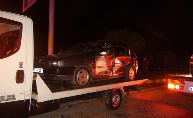 Zonguldak`ta trafik kazası: 4 yaralı