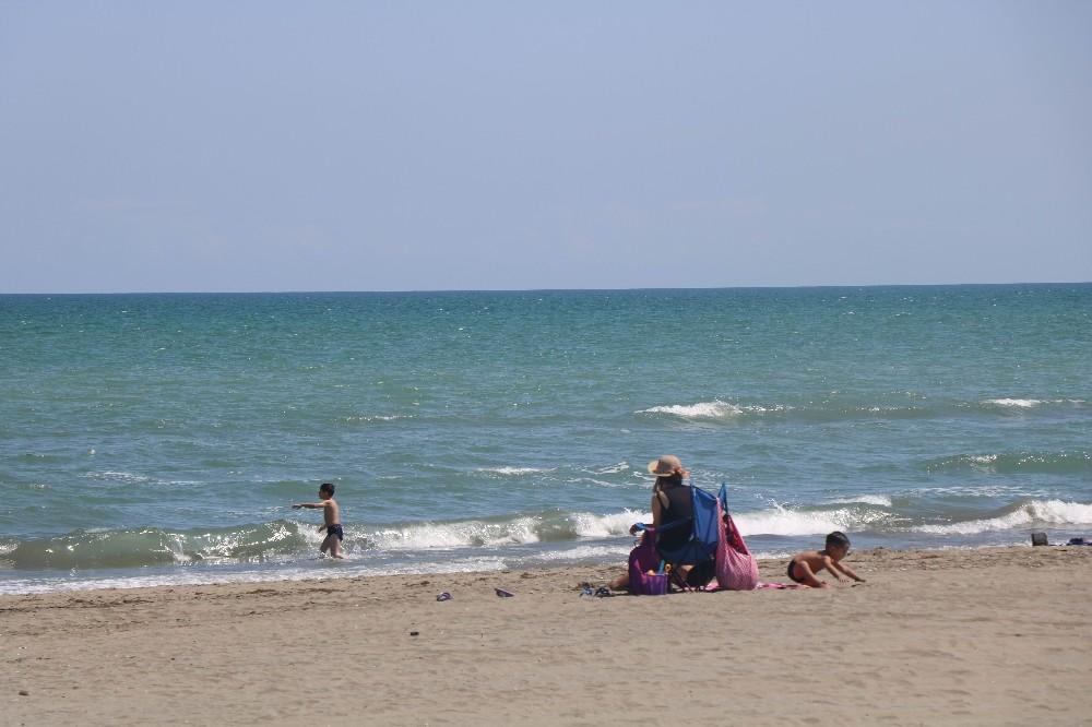 Samsun'da deniz sezonu sona eriyor