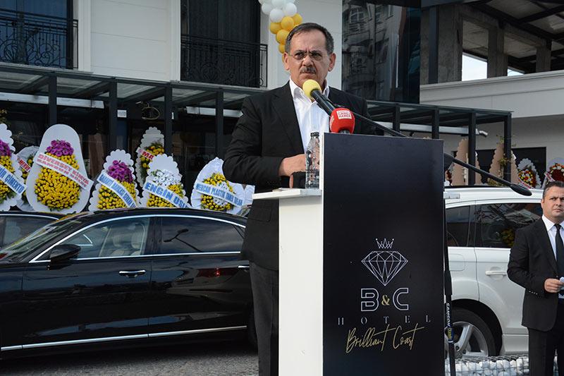 Samsun'da B&C Hotel görkemli bir törenle açıldı