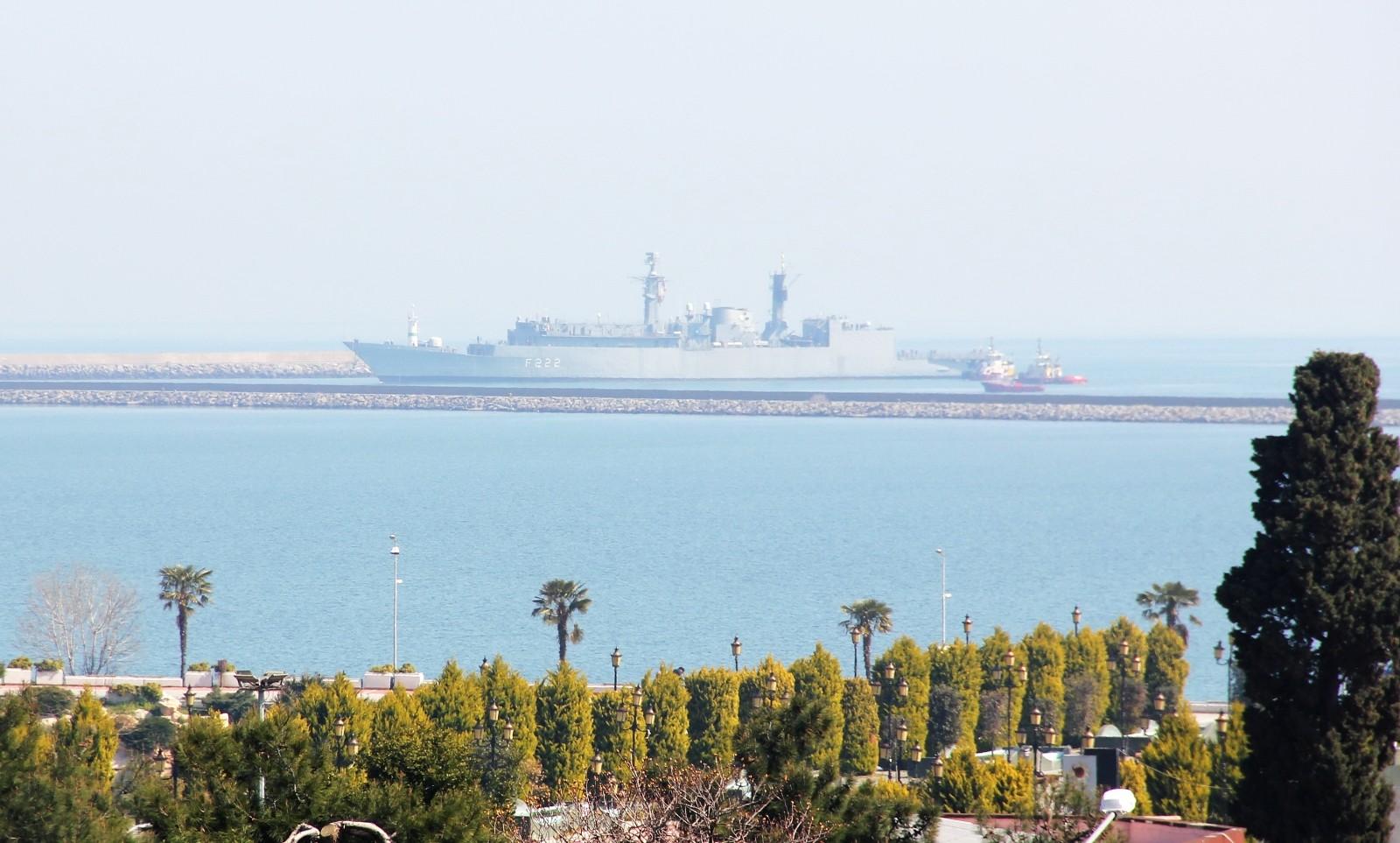 NATO'nun Samsun çıkarması: 3 savaş gemisi limana demirledi