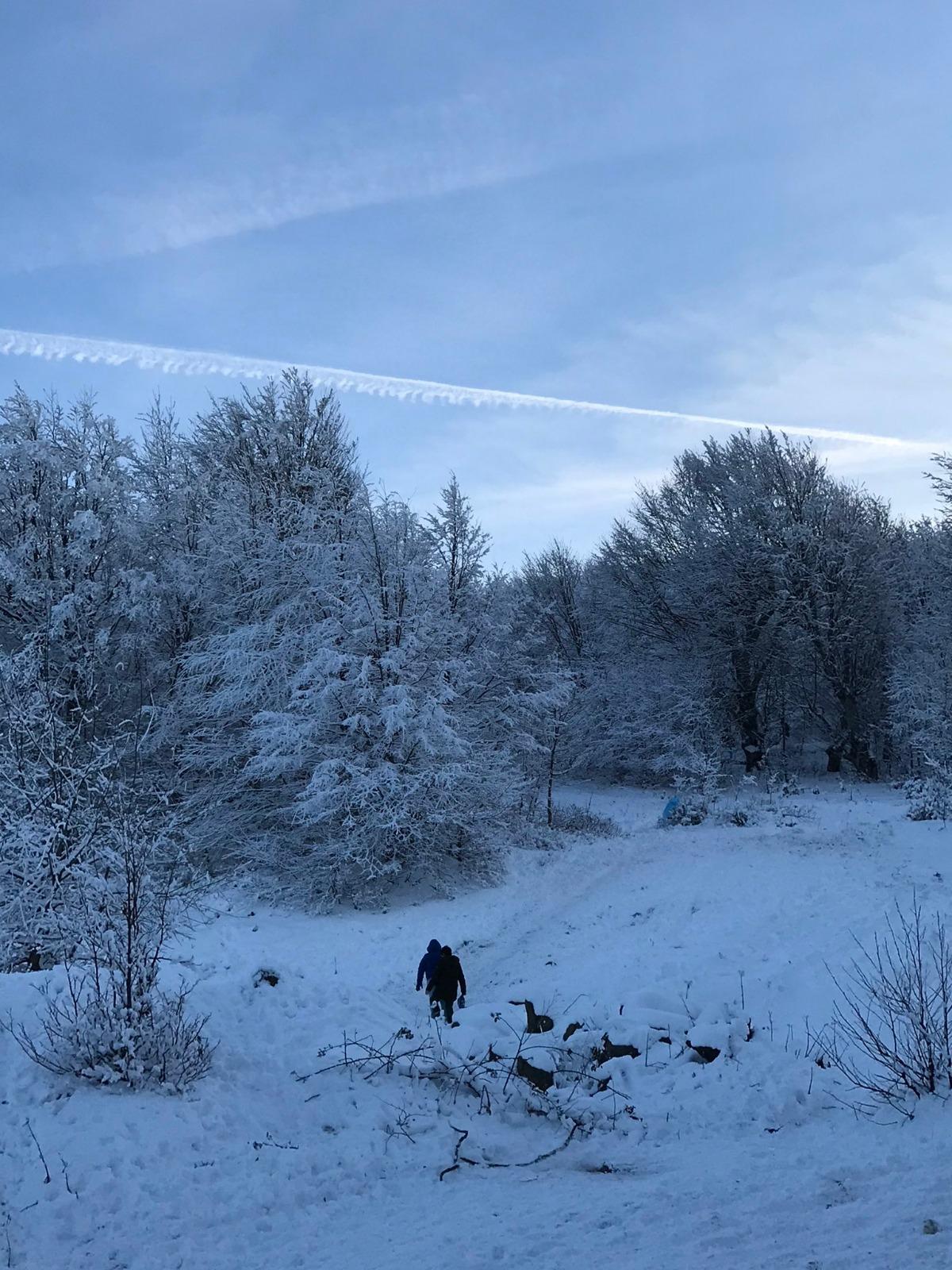 Samsun kar manzara fotoğrafları