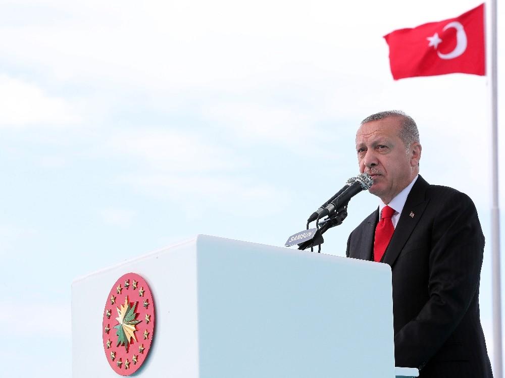 Cumhurbaşkanı Erdoğan: 'Devlet ebed müddet milletin bizatihi kendisidir'