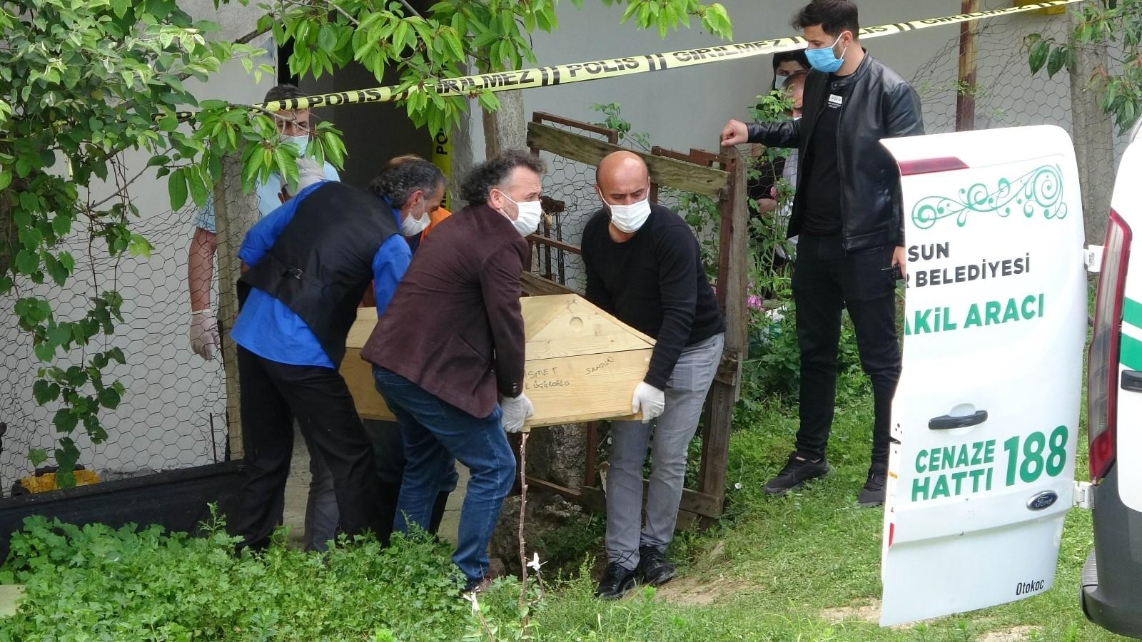 Önce eşini sonra kendini vuran çiftin cesetleri otopsi için morga kaldırıldı