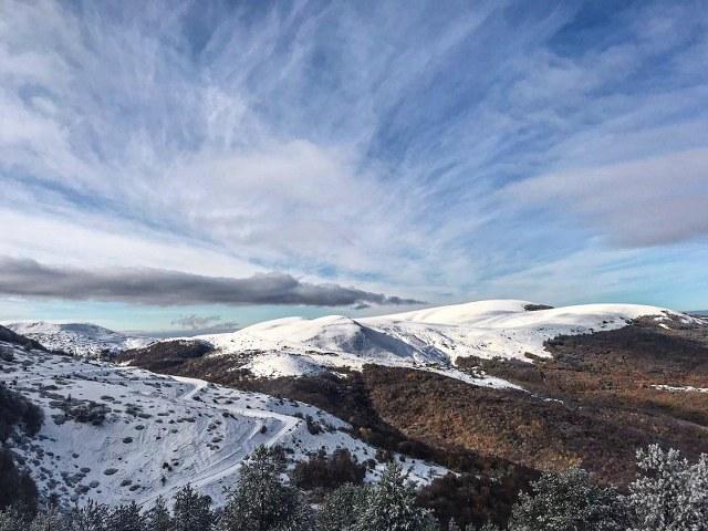 Samsun'a yılın ilk karı yağdı