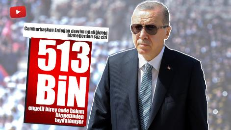 513 Bin Engelli Evinde Bakım Hizmetinden Faydalanıyor