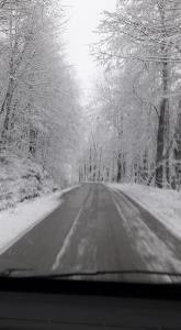 Samsun Atakum Kar görüntüleri
