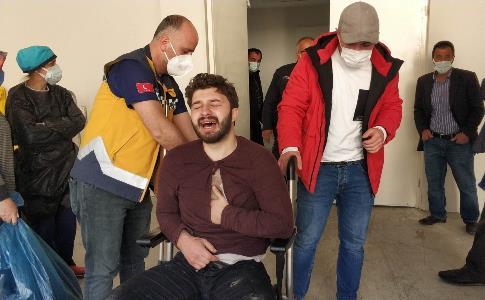 Samsun'da koca dehşeti: 1 ölü, 1 yaralı