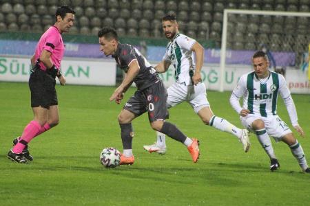 TFF 1 Lig: Giresunspor: 0 - Yılport Samsunspor: 0