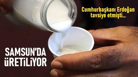 Cumhurbaşkanı Erdoğan'ın tavsiyeleri üzerine Samsun'a üretiliyor