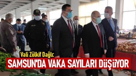 Samsun'da vaka sayıları düşüyor