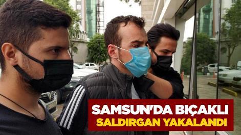 Samsun'da 2 kuaförü bıçaklayan zanlı yakalandı