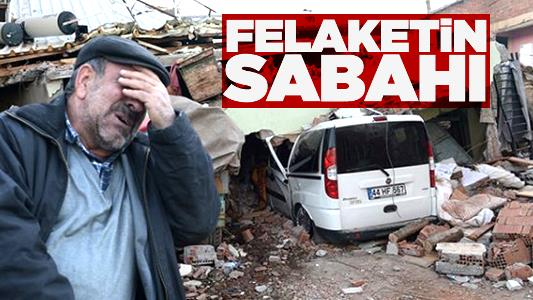 Türkiye'yi sarsan Elazığ depremi!