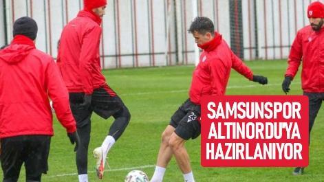 Samsunspor Altınordu'ya Hazırlanıyor