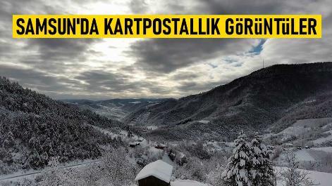 Samsun'da kartpostallık görüntüler