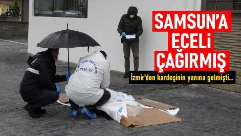 Samsun'da 6 kattan düşen kadın hayatını kaybetti