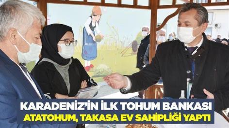Karadeniz'in ilk tohum bankası AtaTohum, takasa ev sahipliği yaptı