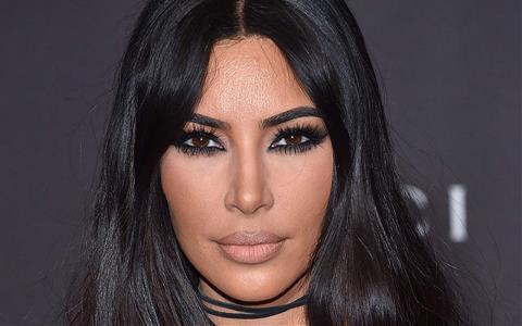 Kardashian Los Angeles'ta görüntülendi