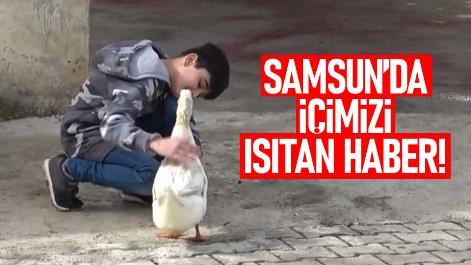 Samsun'da içimizi ısıtan haber