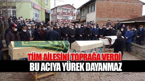 Samsun'da tüm ailesini kaybetti