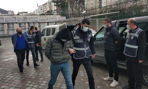 Samsun'da sokak ortasındaki cinayete 5 gözaltı