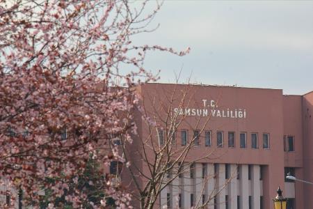 Samsun'da ilkbahar: Tabiat şenlendi