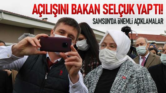 Samsun'da açılışını Bakan Selçuk yaptı!
