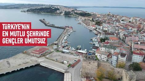Türkiye'nin en mutlu şehrinde gençler umutsuz