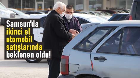 Samsun'da ikinci el otomobil satışlarında beklenen oldu!