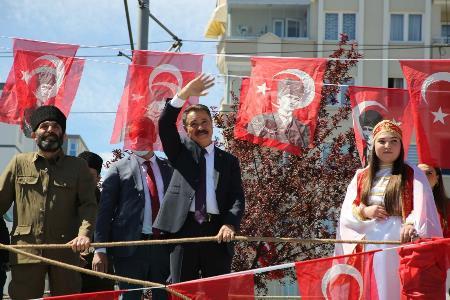 Başkan Deveci: 'Cumhuriyet'i sonsuza kadar yaşatacağız'