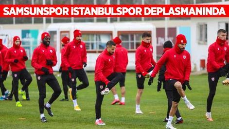 Samsunspor İstanbulspor deplasmanında