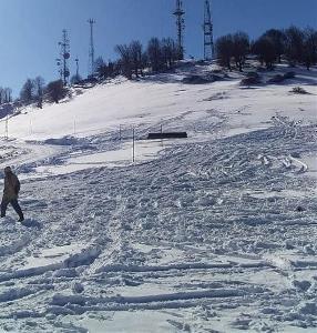 Samsun'da kar yağışı! Kartpostallık görüntüler